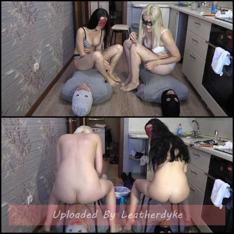 2 slaves VS 2 mistresses. Sport competitions! with MilanaSmelly
