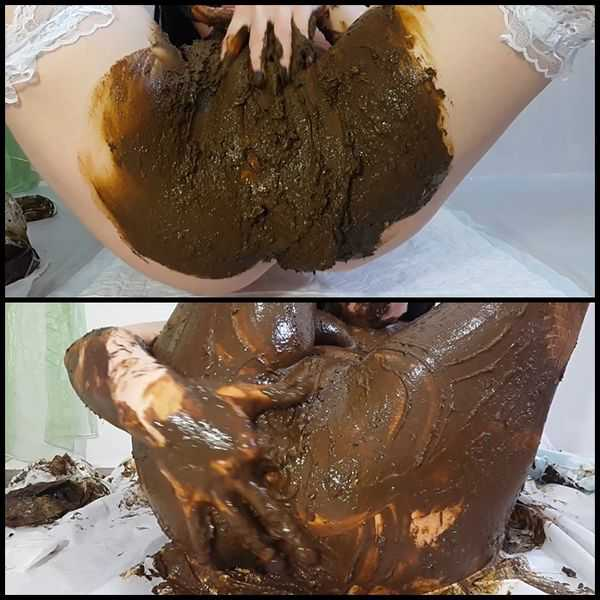 Anna Coprofield Mission Completed part 1 - scat porn, poop