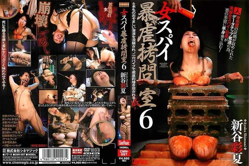 CMN-097 Woman Spy Torture Chamber 6 Shintani Ayaka Violence - Restraints, Training