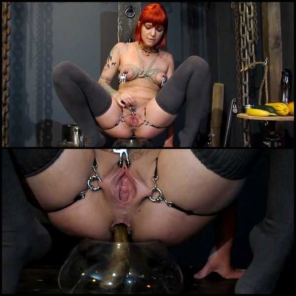 EFRO Bondage Piss Drinking Shit with Enema – Abigail Dupree  - scat porn, defecation,  HD 720p | Release Date: June 22, 2017