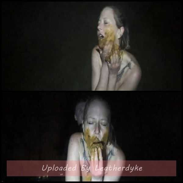 Farted out in the dark outdoor my enema with scatsusan  - scat porn, shitty blowjob,  Full HD 1080p | Release Year: December 15, 2017