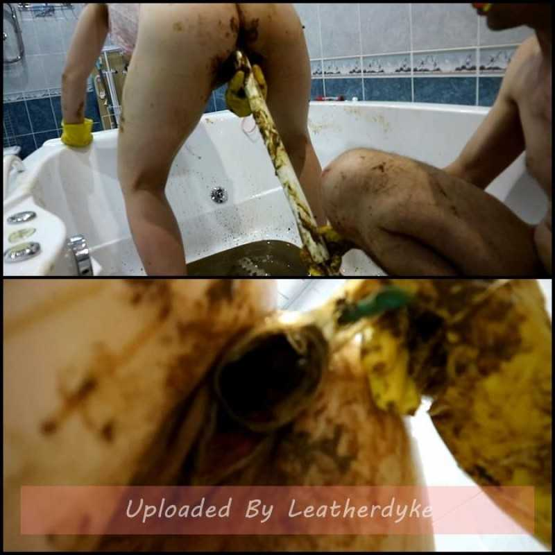 Fecal bath Part 3 with WCwife