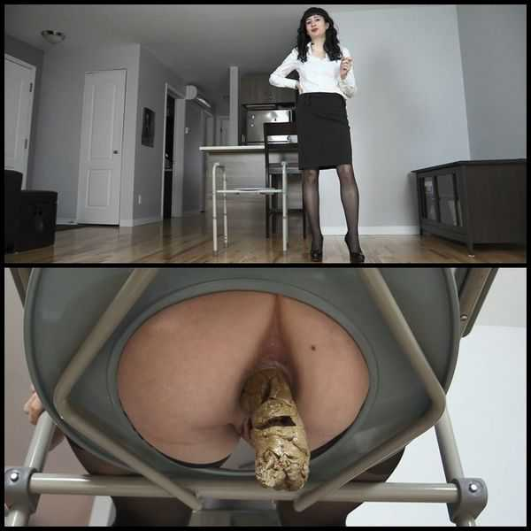 French Wife turning you into human toilet  - scat porn, scat solo,  Full HD 1080p | Release Year: August 17, 2017