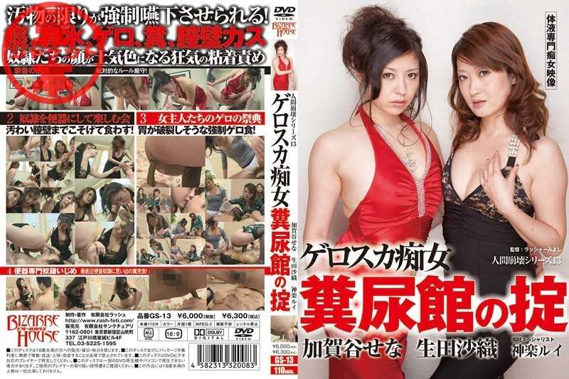 GS-13 Museum Of The Law Of Human Excreta Slut 13 Gerosuka Series Collapse - Piss Drinking, SM
