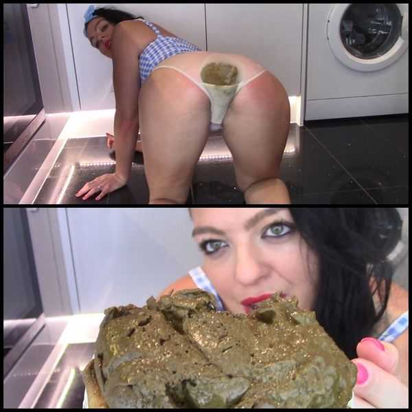 Huge Poo In My White Cotton Pants  - scat porn, poop,  FULL HD 1080P | Release Year: October 20, 2017