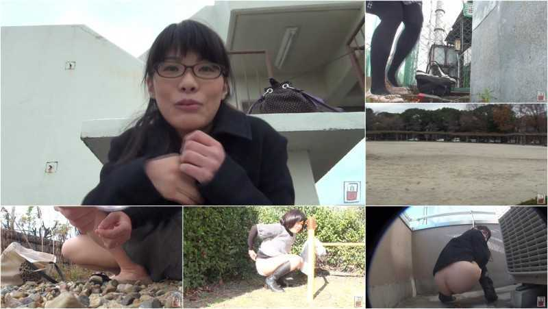 JG-134 Amateur Girls Scat Vlogs. Outdoor Enema!