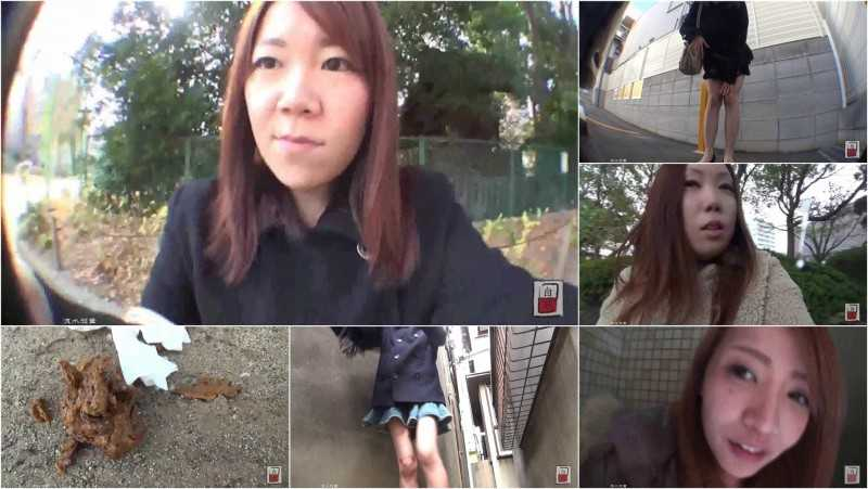 JG-171 Amateur Girls Scat Vlogs. Standing Defecation! VOL.1