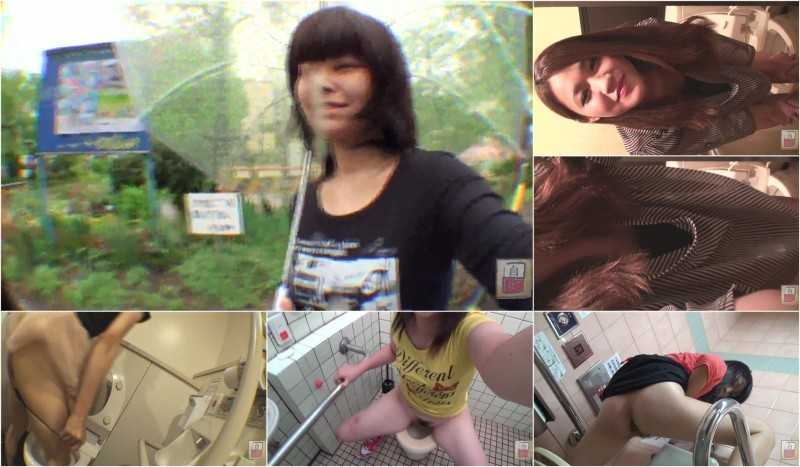 JG-184 | Amateur excretion selfies in public toilets. FILE 1 [JG-184_01]