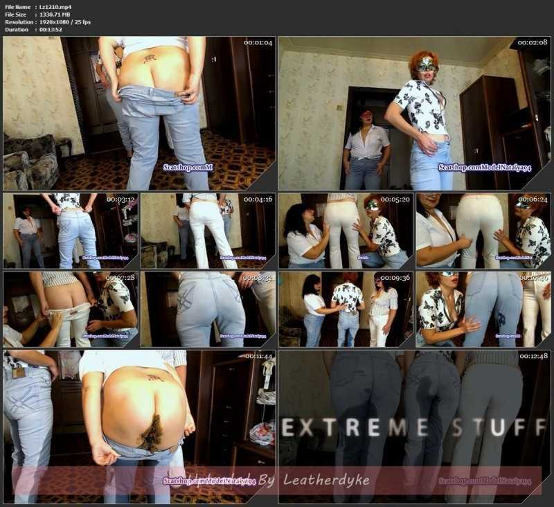 Lolita Olga and Marina in jeans with ModelNatalya94
