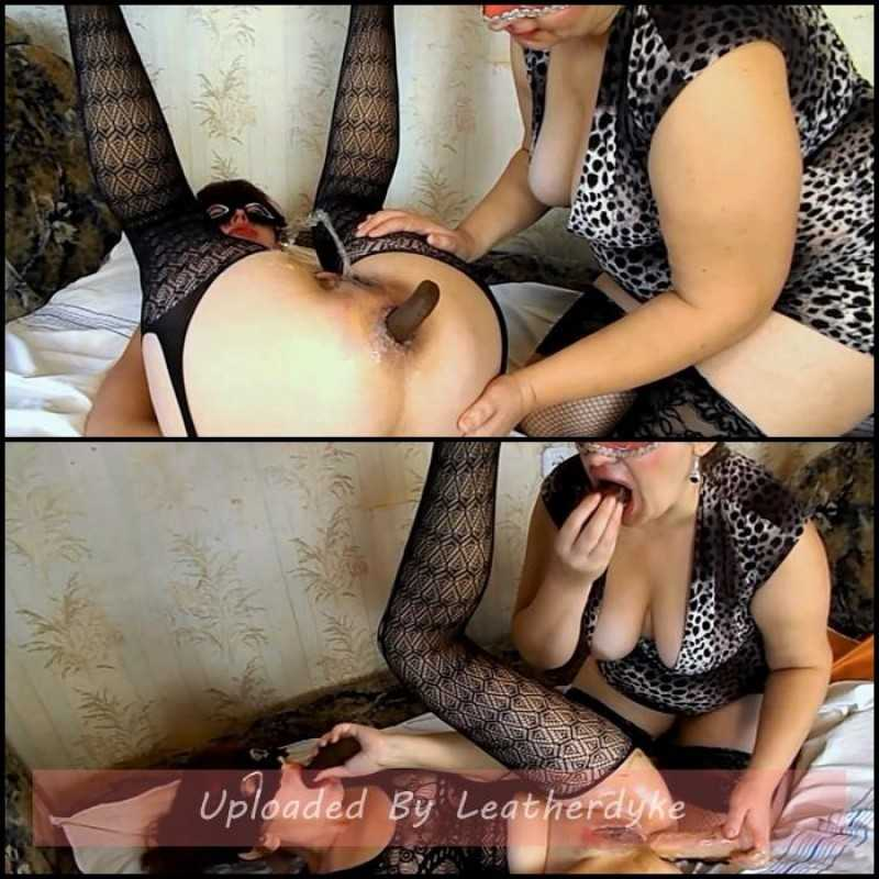 Olga and Yana shit eating games with ModelNatalya94
