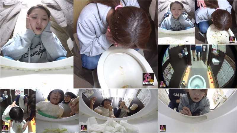 PGFD-015 Drunk Girlfriends Puking Together.