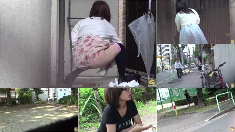 PM184 Pissing & Shitting Outdoors Voyeurism. vol.15