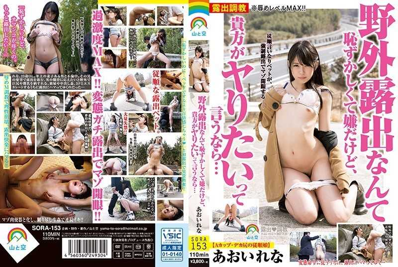 SORA-153 I Do Not Want To Be Embarrassed For Outdoor Exposure, But If You Say That You Want To Get On ... Ao Igawa - 3P, 4P, Urination