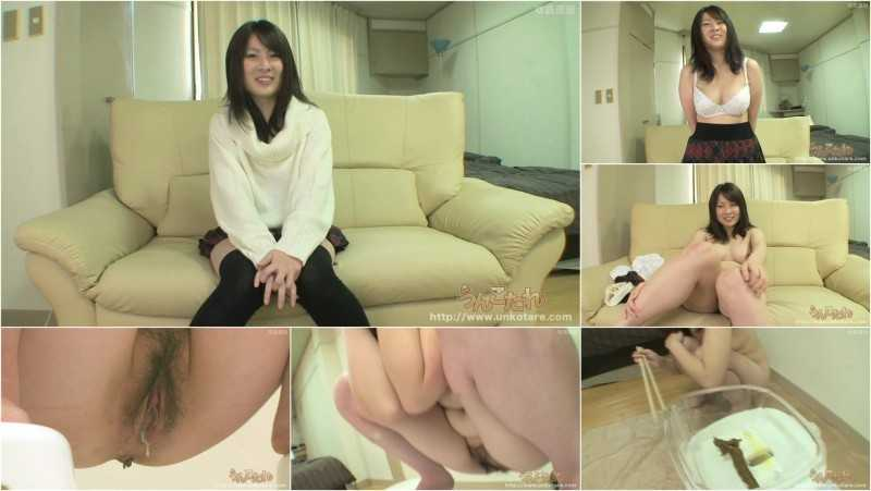 UNKO-23 | Uncensored defecation solo. 18 years old Momo Akiyama.