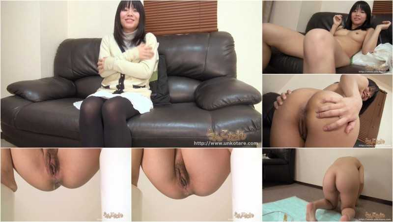 UNKO-34 | Uncensored defecation solo. 21 years old Yukie Hiroi.