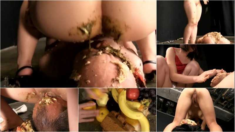 VRXX-001 | Face sitting femdom food and scat cavalry #3.